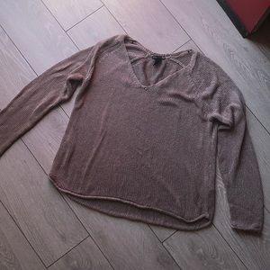 H&M basics sweater top size medium
